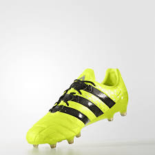to enlarge image adidas ace 16 1 leather firm ground boots solar yellow core black silver met d jpg