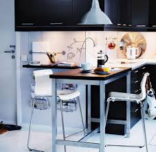 Kitchen Furniture Small Spaces Small Kitchen Tables With Drawers Table For Kitchen Or Utility