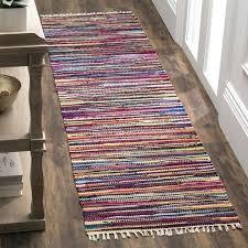 rag runner rug rag rug transitional stripe hand woven cotton multi runner rug swedish rag rug rag runner rug