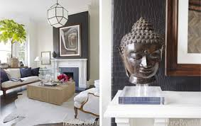 Asian Inspired Decor With Buddhas