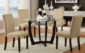 glass seats set small for dimensions formal table looking tables spaces inches dining good sets round