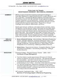 Resume Format For Experienced Mechanical Design Engineer Elegant ...