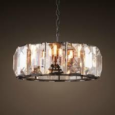 modern designer lighting. RH Harlow Crystal Round Chandelier Design By Restoration Hardware - A Modern Designer Lighting On Dezignlover.com E