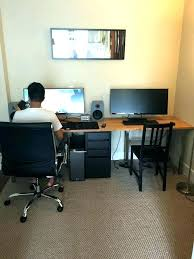 2 person office desk office l shaped computer desk two person in 2 desks for two desk for two