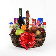 bountiful wine gift basket
