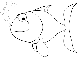Disegno Pesce Facile