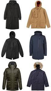 the best men s winter coats for 2018 fashionbeans the best parka jackets for men