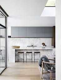 Modern Sleek Kitchen, Minimal Kitchen, Calacatta Marble ...