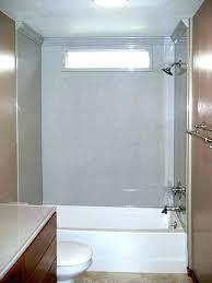 three piece shower surround installation one bathtub 1 wall bathroom kit