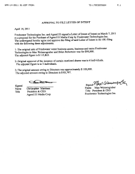 Letter of Intent Dr  Mary E  Galvin OGP Newsletters