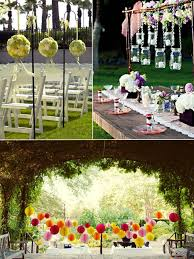 Chic Garden Wedding Decor Ideas Decoration Garden Wedding Decorations Ideas