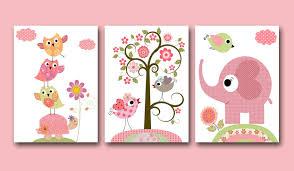 Baby Monogram Wall Decor Baby Nursery Decor Simple Monogram Baby Girl Nursery Wall Decor
