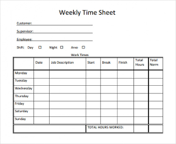 Hourly Timesheet Calculator