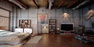 Vintage Industrial Interior Design Home Design Ideas - Vintage studio apartment design
