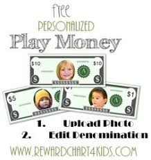 Play Money Template Insert | Teaching Resources | Pinterest ...