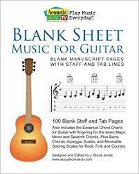 blank sheet music book buy blank sheet music for guitar blank manuscript pages with staff