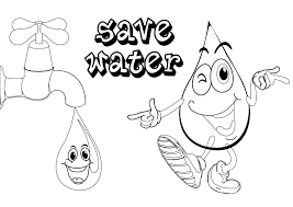 Save Water Colouring Pages High Quality Coloring Best Of