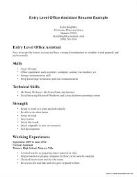 Sample Resume For Dental Assistant With No Experience