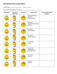 83 Best Behavior Charts Visual Aides Images In 2019