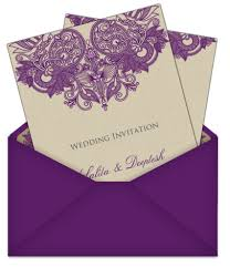 E Wedding Invitations Indian Style Indian Letter Style Email Wedding