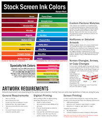 Color Chart Cheap Yard Signs And Banners