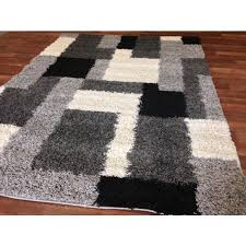 furniture 61rubmd4qsl decorative black and gray area rugs 10 within decorations 1