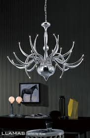 diyas llamas il30142 adjule 24 light pendant