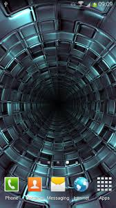3D Tunnel Live Wallpaper for Android ...