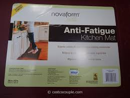 Anti Fatigue Floor Mats Kitchen Novaform Anti Fatigue Kitchen Mat