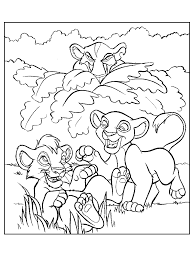 disney coloring pictures lion king 59399