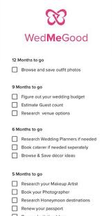 The 12 Month Wedding Checklist Every Indian Bride Needs Wedsutra