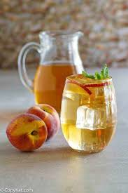 recreate the olive garden peach iced tea at home you are going to love this