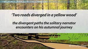 the road not taken symbolism