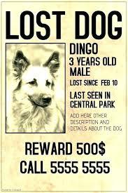 Dog Flyer Template Free Missing Person Flyer Template Euraforum Info