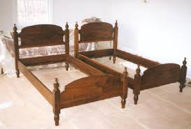 wooden twin beds. Contemporary Beds Falcon Woodworks On Wooden Twin Beds