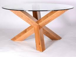 fanciful table tfw cm glass oak utah round solid oak dining table glass top mm jpg