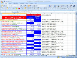 Financial Model Excel Spreadsheet Financial Projections Excel Spreadsheet Templates 5 Year