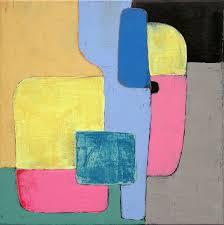 geometric painting minimalist painting abstract painting small oil painting original painting on canvas tommasini ruggero