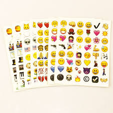 1PCS <b>sheet</b>(48stickers ) Cute <b>Lovely 48</b> Die Cut Emoji Smile Sticker ...