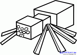 Small Picture minecraft coloring kids spider Coloring pages Printable
