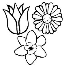Small Picture Spring Flower Coloring Page for Kids Color Luna
