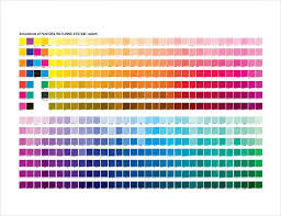 Custom screen printing pms color chart pantone matching system color is a guide to assist your color selection and specification process for the best results. 15 Word Pantone Color Chart Templates Free Download Free Premium Templates