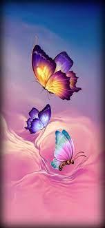 Lock Screen Butterfly Nature Wallpaper