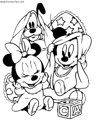Disney Babies Coloring Pages Getcoloringpagescom