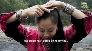 リアルラプンツェルが暮らす村が中国にある Gigazine