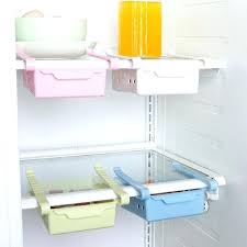 space saver refrigerators slide refrigerator space saver organizer freezer storage box shelf holder drawer kitchen fridge