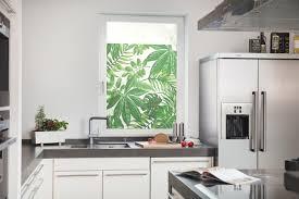 Fensterfolie Selbstklebend Sichtschutz Blätter Grün Lichblick Shop