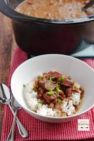 red beans and rice in the slow cooker apinchofhealthy