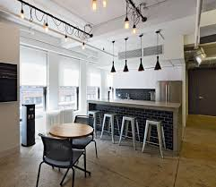 office pantry. Interesting Office BRDesign  Neoscape Workplace Architecture Interior Design Cool Office  Pantry Bar Subway Tile Industrial Lighting Intended N