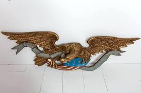 awesome eagle wall decor adornment painting ideas decoration brass